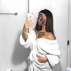 "@amoreleecosmetics on Instagram: ""Saturdazeee vibe: Luminous Face Mask + Netflix 🖤"""