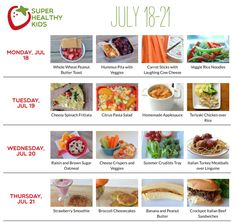 July 18-24 | Super Healthy Kids