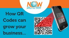 How QR Codes can grow your business… In our earlier blog we shared what QR codes are and how they work. Consumers want immediate access to relevant information,and QR codes make that possible. QR codes connect people with each other and to multimedia digital content, which makes them very useful for businesses and consumers alike!