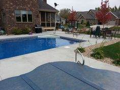 In ground pool Recreational Concepts Built
