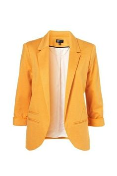 Candy-Color Boy Friend Blazer Without Button [FFBI0010] - PersunMall.com
