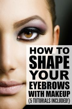 If you're looking for tips, tricks, and product recommendations to teach yourself how to shape your eyebrows like a pro, this collection of tutorials is just what you need. Each tutorial is loaded with great eyebrow shaping tips to give you perfectly defined eyebrows, and I especially love the look in tutorial # 1!