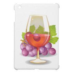 Wine n Grapes iPad Mini Case