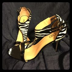 Spotted while shopping on Poshmark: ZEBRA HEELS ! #poshmark #fashion #shopping #style #Cato #Shoes