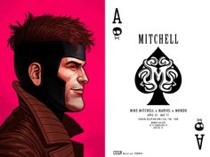 Mike Mitchell - Marvel Portraits
