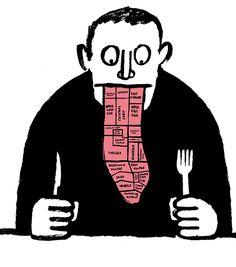 French illustrator Jean Jullien for New York Magazine.