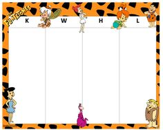 KWHL Table Flintstones 30x24 Tables, Arts And Crafts, Disney Characters, School, Mesas, Art And Craft, Art Crafts, Crafting