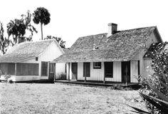 Marjorie Kinnan Rawlings home - Cross Creek, Florida 1960s