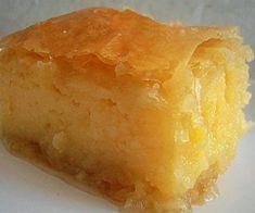 Greek Desserts, Greek Recipes, Cornbread, Deserts, Lemon, Food And Drink, Sweets, Ethnic Recipes, Recipes