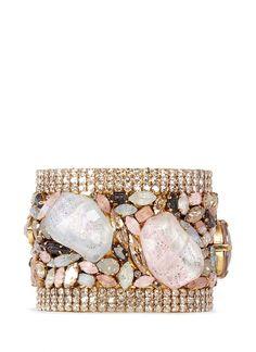 Erickson Beamon 'Marchesa' iridescent gemstone cuff on shopstyle.com