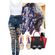 Out, created by courtneyla on Polyvore