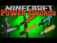 Minecraft Mod Showcase - Power Swords Mod - Mod Review