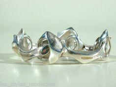 Lapponia Finnland Silber Armband Kangs Shackles ° Design BJÖRN Weckstrom