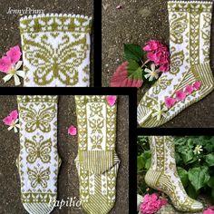 Ravelry: Papilio Socks by JennyPenny