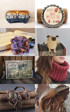 Holiday gifts - Brown for you by Sweetly ART on Etsy--Pinned with TreasuryPin.com