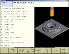 WinNC EMCO WinNC gives cnc machinists/programmers/students the opportunity to install multiple cnc controls software on a single PC/laptop, so they can get Cnc Machinist, Cnc Programming, 3 D, Manual, Software, Engineering, Textbook, Technology