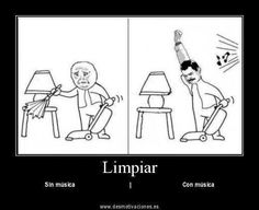 Limpiar There's no other way to clean, honestly...