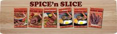 Spice 'n Slice is a seasoning mix to be used to make your own jerky, salami, summer sausage, pepperoni, and breakfast sausage. Summer Sausage, Sausage Breakfast, Seasoning Mixes, Bologna, Pepperoni, Cereal, Spices, Website, Food