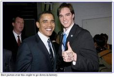 "Obama Pranked by Ron Paul Supporter?: ""Vote Ron Paul"""