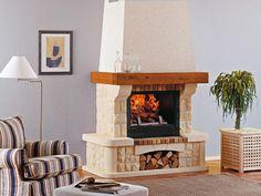 Richard Le Droff, Mykonos, Longchamp, Brick, Mai, Evans, Design, Home Decor, Fire Places