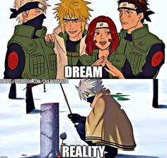 Probably with kakashi you just can't really tell