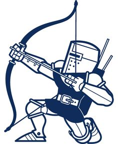 Knights Archer Wall Decal - Baby & Kids Wall Decals E-Glue - Children Room Wall Decor