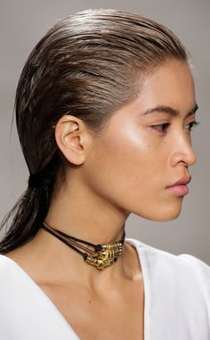 Wet Hair from Hair Trends We Love From New York Fashion Week Spring 2016 | E! Online