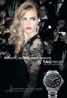 Cara Delevingne fronts new Tag Heuer campaign