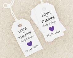wedding tags template