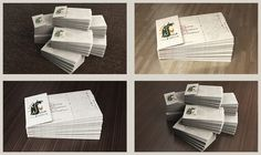 3D iLoveafrica Business Cards