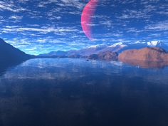 Fantasy Space Art – Rising of the Blood Moon This image...View Image