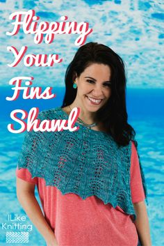 One skein knit shawl pattern - perfect for summer!