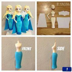 Frozen Elsa tutorial