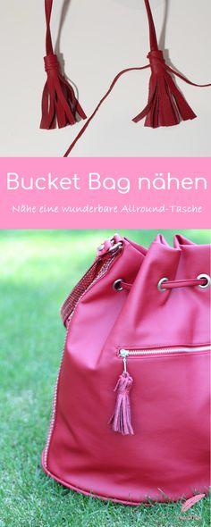 Zum Abschluss meiner Hobo Bag Serie, zeige ich euch heute noch wie ihr einen XXL Bucket Bag nähen könnt. Hobo Bag, Bucket Bag, Beuteltasche – eigentlich alles das gleiche nur unterschiedliche Bezeichnungen oder kennt ihr einen Unterschied?