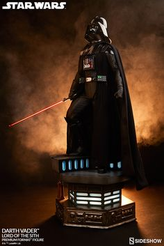 The Darth Vader - Lord of the Sith Premium Format Figure is now available at Sideshow.com for fans of Star Wars Episode VI.