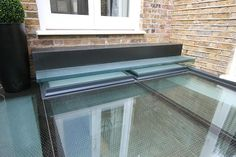 Walk on glass roof by IQ Glass