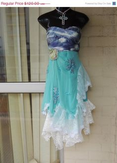 Last Day of SALE Stunning  Revamped Upcycled Shabby by GlamourZoya