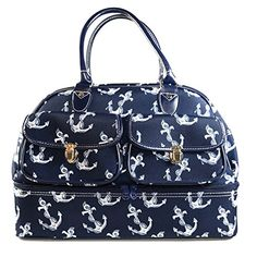 "Ever Moda Fashion Pattern Print Duffle Bag, 18"", Anchor Ever Moda http://www.amazon.com/dp/B00TMRMBQI/ref=cm_sw_r_pi_dp_lg7Dwb1QTEFWY"