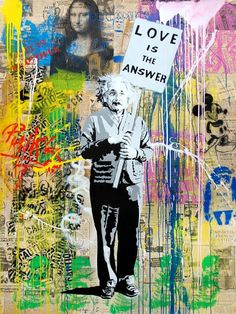 Mr Brainwash Love is the answer