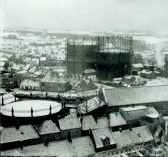 gasfabriek hoeksterend  jaren 50