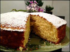 torta light - yogurt e limone (fruttosio al posto dello zucchero per chi soffre di diabete)