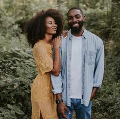 Anthony & Sopha Rush Reveal The Toughest Lessons They Learned During Their First Year Of Marriage Engagement Outfits, Engagement Couple, Engagement Pictures, Engagement Session, Engagements, Black Love Couples, Cute Couples, Couple Posing, Couple Shoot
