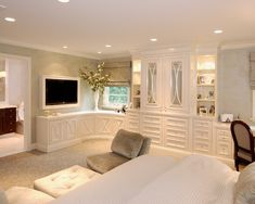 Bedroom Design, Pictures, Remodel, Decor and Ideas - page 225  Love the storage in this.