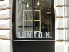 Bonton Paris Window