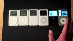 Apple iPod Classic: (Part 2 of 2) Comparing Generations 1-6