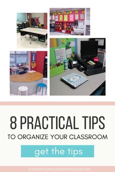 Looking for practical ways to organize your elementary classroom? This post shares useful organization and decorating tips you can use to create a warm and welcoming environment for your students. Guided Reading Organization, Teacher Organization, Organizing, Classroom Jobs, High School Classroom, Teacher Must Haves, Organized Teacher, First Year Teachers, Elementary Math