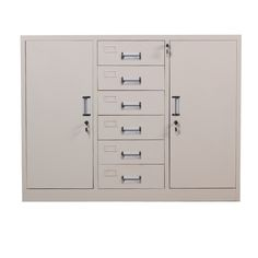 Top quality custom 6 drawer file cabinet steel storage cabinet for office  sc 1 st  Pinterest & High quality cheap office furniture office 3 drawers cabinet modern ...