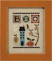 Lizzie Kate Celebrate with Charm Flip-It Series BOO Counted Cross Stitch Pattern Charm - An adorable design to stitch for Halloween Halloween Boo, Halloween Design, Halloween Themes, Cross Stitch Charts, Counted Cross Stitch Patterns, Cross Stitch Designs, Lizzie Kate, Owl Pumpkin, Halloween Cross Stitches