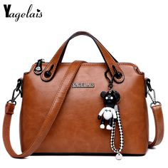 KaiSasi Womens Fashion Exquisite Hand PU Leather Shoulder Bag Bucket Bag Zipper Collage Features
