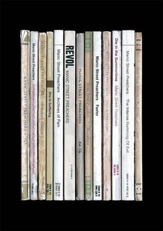 Manic Street Preachers' 1994 album 'The Holy Bible' reimagined as a collection of novels.